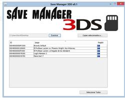 save Manager 3DS - ElOtroLado