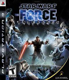Portada de Star Wars: The force unleashed