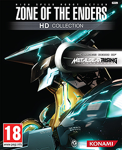 Portada de Zone Of The Enders HD Collection
