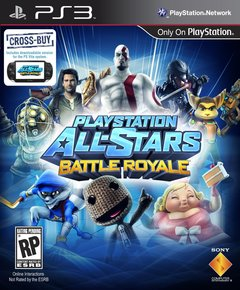 Portada de PlayStation All-Stars Battle Royale