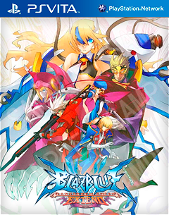 Portada de BlazBlue: Continuum Shift Extend