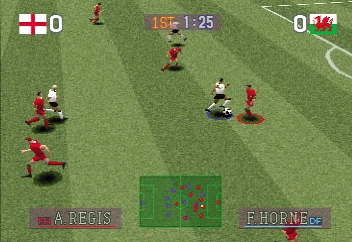 Pro Evolution Soccer (2001) Gameplay - PSX,PSONE ...  Pes 2001
