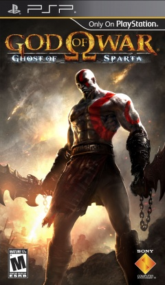 Portada de God of War: Ghost of Sparta