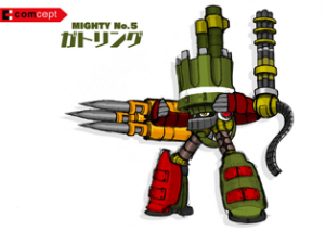 Mighty No. 9 - Arte conceptual - Mighty No. 5.png