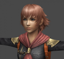 Vista 02 modelo 3D personaje Cater juego Final Fantasy Type-0 PSP.png