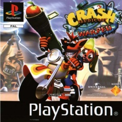 Portada de Crash Bandicoot 3: Warped