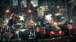 Batman Arkham Knight - Batmovil vs AK.jpg