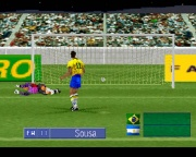 International Superstar Soccer Pro (Playstation Pal) juego real lanzamiento de penalti.jpg