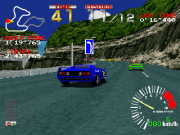 Ridge Racer Playstation juego real en carrera.png