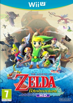 Portada de The Legend of Zelda: The Wind Waker HD