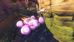 Pantalla personaje Amy juego Sonic & All Stars Racing Transformed multiplataforma.jpg