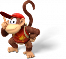 Donkey Kong Country TF Artwork Diddy Kong.png
