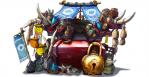 Arte 04 caravana juego Monster Hunter 4 Nintendo 3DS.png