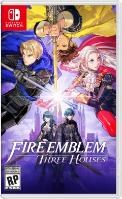 Portada de Fire Emblem: Three Houses