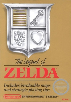 Portada de The Legend of Zelda
