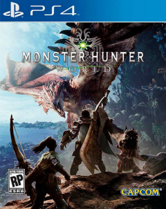 Portada de Monster Hunter World