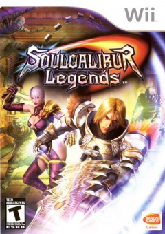Portada de Soul Calibur Legends