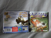 4 Wheel Thunder (Dreamcast-pal) fotografía caratula trasera y manual.jpg