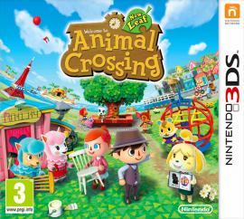 Portada de Animal Crossing: New Leaf