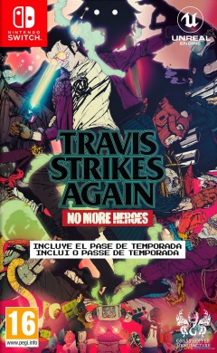 Portada de Travis Strikes Again: No More Heroes