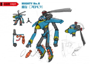 Mighty No. 9 - Arte conceptual - Mighty No. 6.jpg