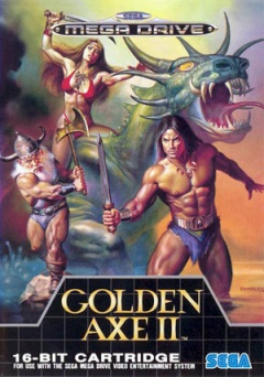 Portada de Golden Axe II