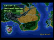 Air Combat Playstation Pal juego real pantalla primera misión.jpg
