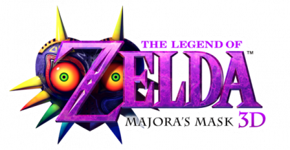 Logo The Legend of Zelda Majora's Mask 3D.png