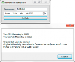 Captura de Nintendo Parental Tool