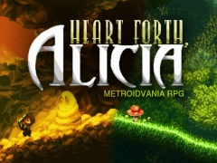 Portada de Heart Forth, Alicia