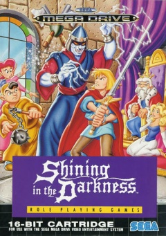 Portada de Shining in the Darkness