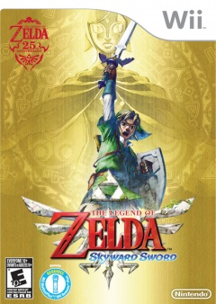 Portada de The Legend of Zelda: Skyward Sword
