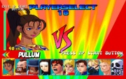 Street Fighter Plus Alpha (Playstation) juego real pantalla seleccion personajes.jpg