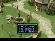 Xenogears playstation juego real explorando Lahan.png
