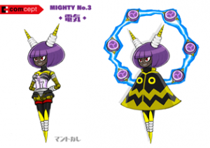 Mighty No. 9 - Arte conceptual - Mighty No. 3.png