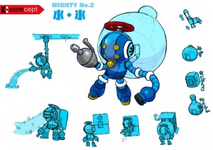 Mighty No. 9 - Arte conceptual - Mighty No. 2.jpg
