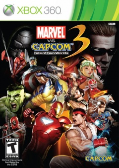 Portada de Marvel vs. Capcom 3: Fate of Two Worlds