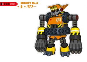 Mighty No. 9 - Arte conceptual - Mighty No. 4.png
