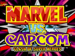 Portada de Marvel vs Capcom;Clash of Super Heroes