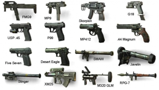 Call of Duty Modern Warfare 3 (Armas Secundarias).jpg