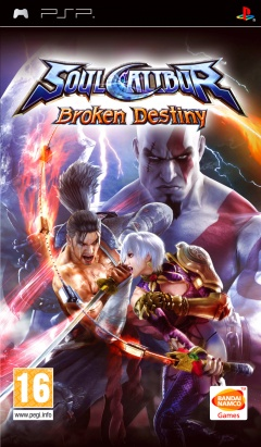Portada de Soul Calibur: Broken Destiny