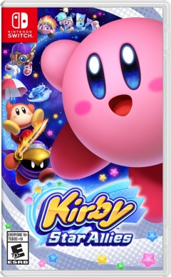 Portada de Kirby Star Allies