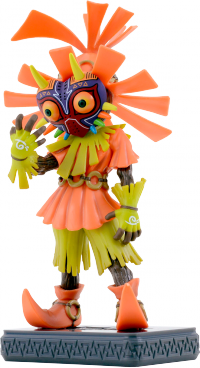 New Nintendo 3DS XL - The Legend of Zelda- Majora's Mask 3D - Figura Skull Kid.png