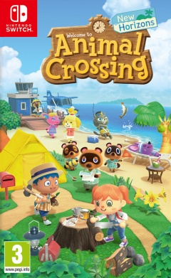 Portada de Animal Crossing: New Horizons