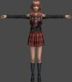 Vista 01 modelo 3D personaje Cater juego Final Fantasy Type-0 PSP.png