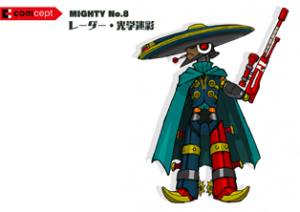 Mighty No. 9 - Arte conceptual - Mighty No. 8.png