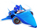 Arte Sonic avión juego Sonic & All-Stars Racing Transformed multiplataforma.png