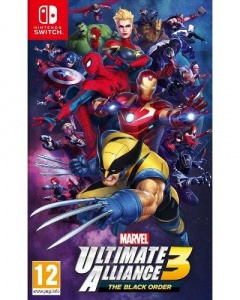 Portada de Marvel Ultimate Alliance 3: The Black Order