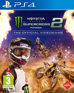 Portada de Monster Energy Supercross 2 – The Official Videogame