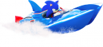 Arte Sonic lancha juego Sonic & All-Stars Racing Transformed multiplataforma.png